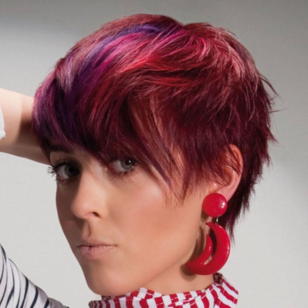 Fraulich - Frisuren für die Frau | Kurzhaarfrisuren, Kurze