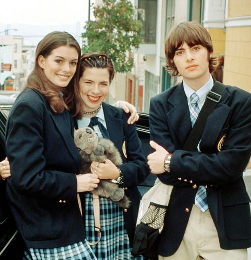 Anne Hathaway, Heather Matarazzo, And Robert Schwartzman