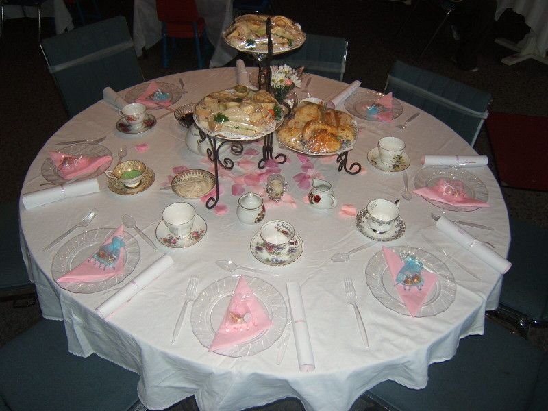 decorating for english tea party | Tea Party Menu