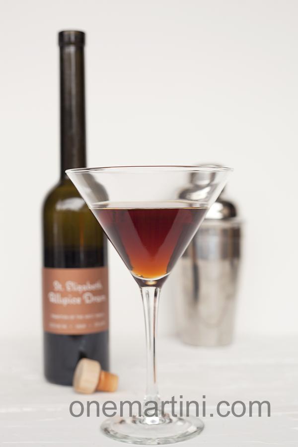 Vanilla Spice Martini {with vanilla vodka}