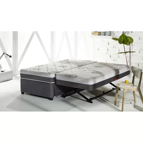 Four Seasons Twin XL Daybed with Trundle and Mattress