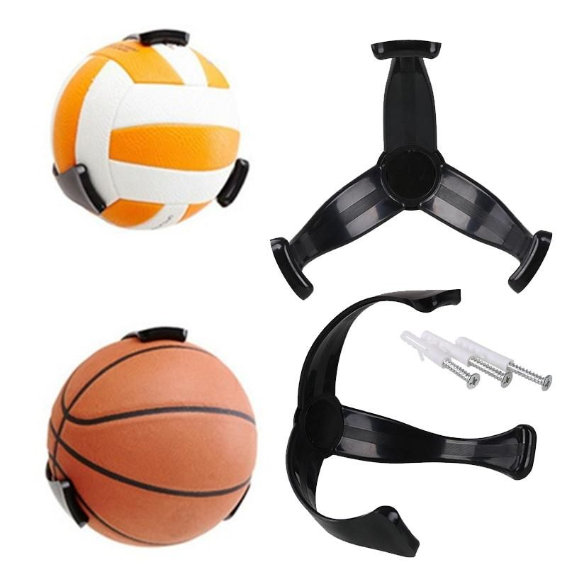 Ball Claw Basketball Holder Storage Plastic Stand Support Football Soccer Rugby Ball Standing Holder For Footb Basketball Holder Soccer Storage Basketball Wall