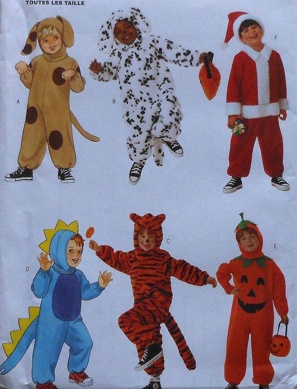 Puppy Dog Dinosaur Tiger Pumpkin Santa Claus Costume Sewing ...