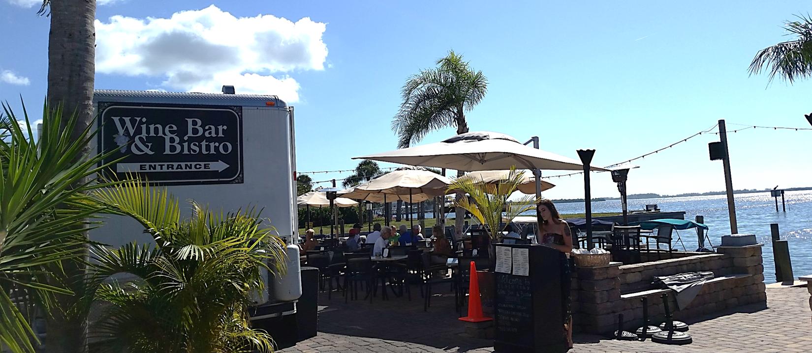 Wine Bar & Bistro on the Bay! | Manasota key florida ...