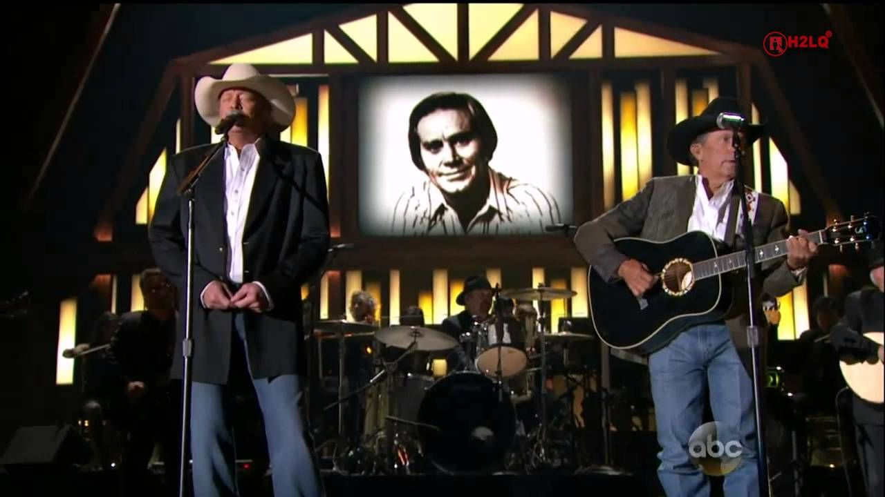 George Strait Ft Alan Jackson He Stopped Loving Her Today The