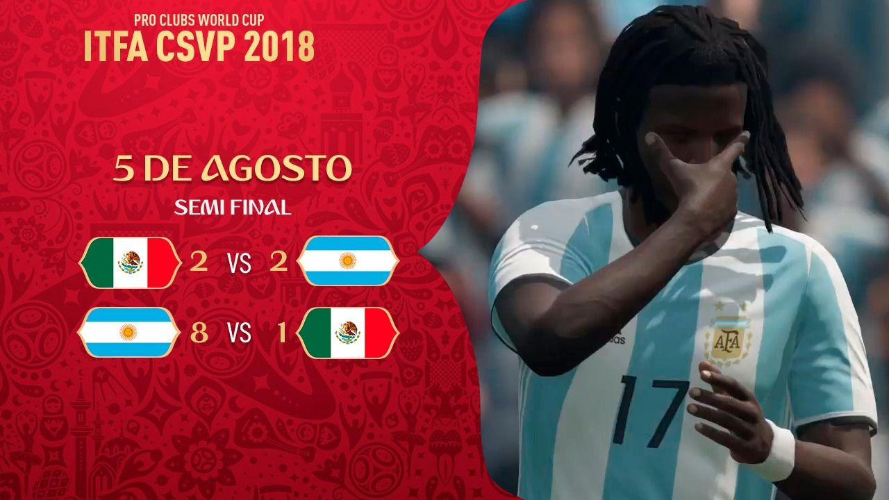 FIFA 18: Argentina llegó a la final del Mundial de Clubes