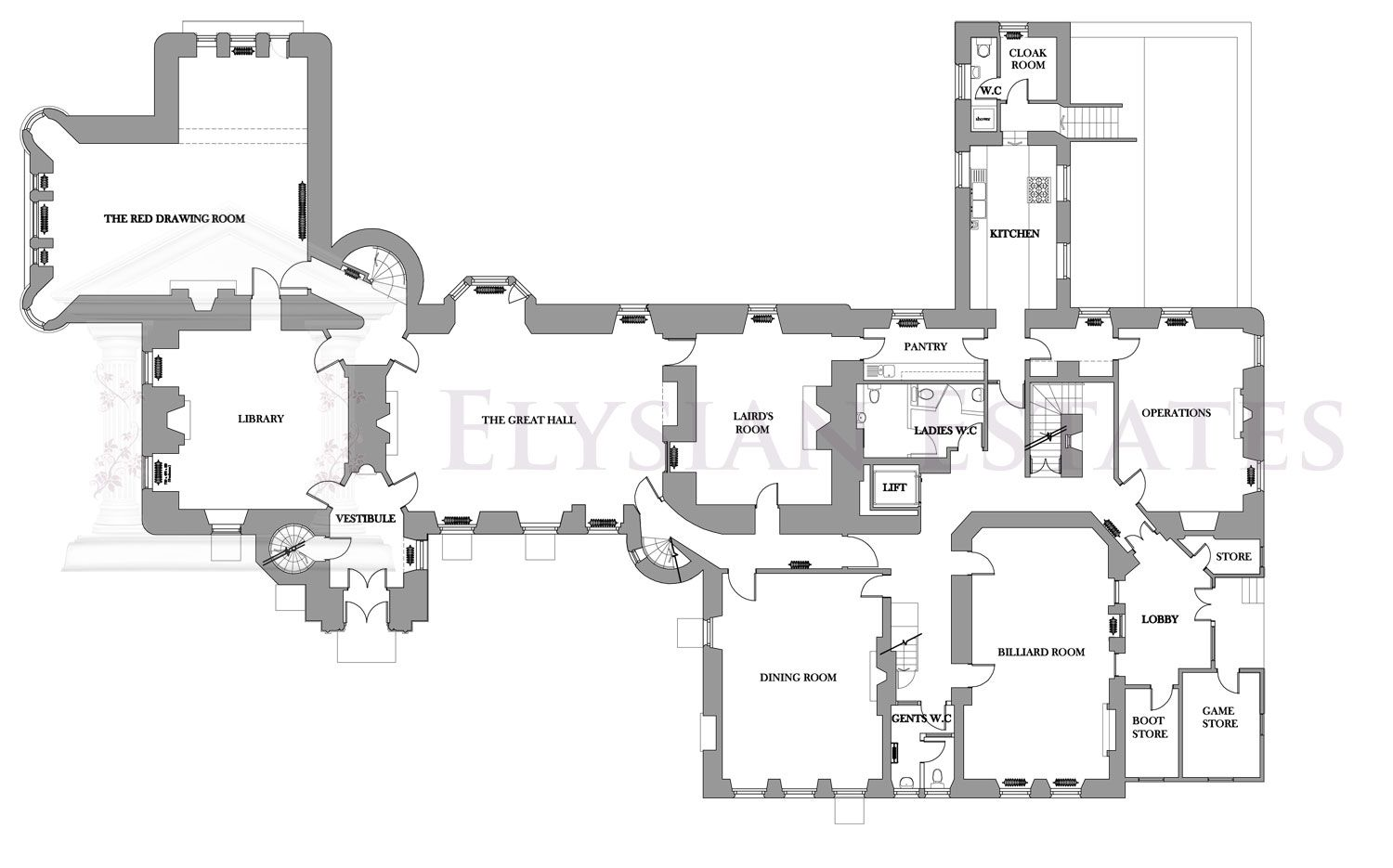 cawdor castle floor plan floor plans castle places to visit