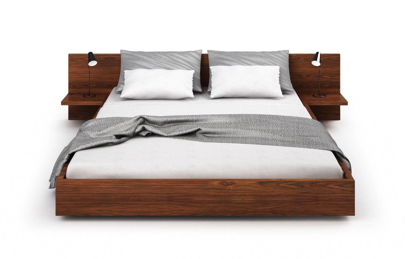 Havanna in Nussbaum Bett Bett, Bett ideen, Möbel nach maß