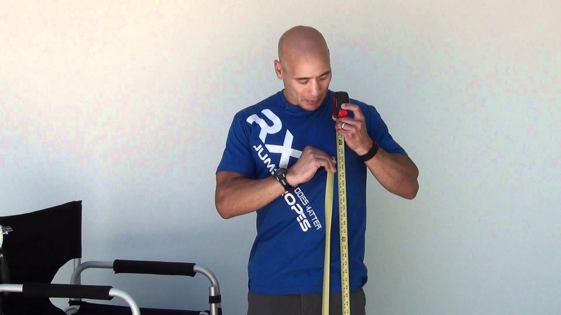 How to measure for your rx jump rope jump rope rx jump