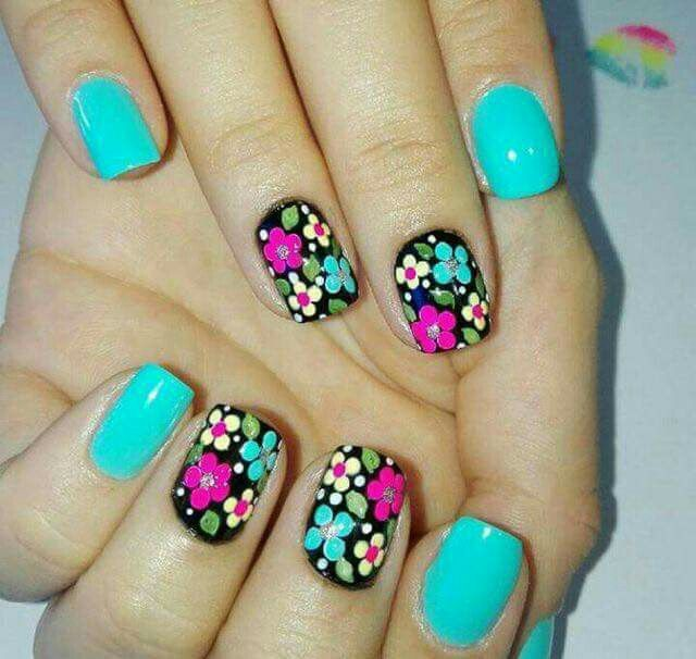 Pin de Sandy Aguallo en nails | Pinterest | Arte de uñas, Uñas de ...