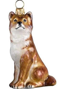 Shiba Inu - Shiba Inu Christmas Ornament - Red | Dog is my Copirate ...