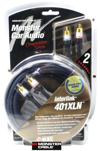 XLN401 2C-3M - Monster Cable 2 Ch  9' 401XLN Interconnects