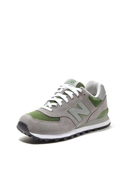 Suede and Mesh Sneakers by New Balance on Gilt.com