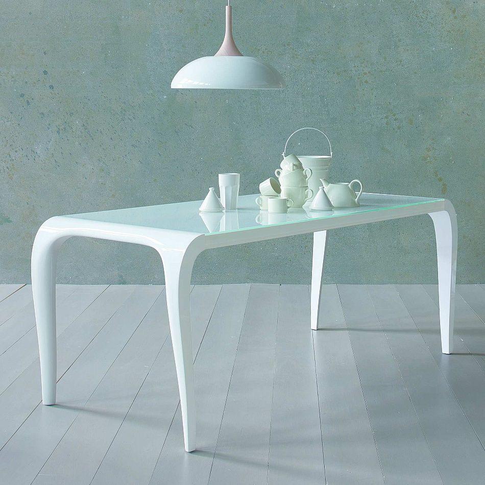 Fixed Or Extendable Table Artu Represents Minimalist Elegance.