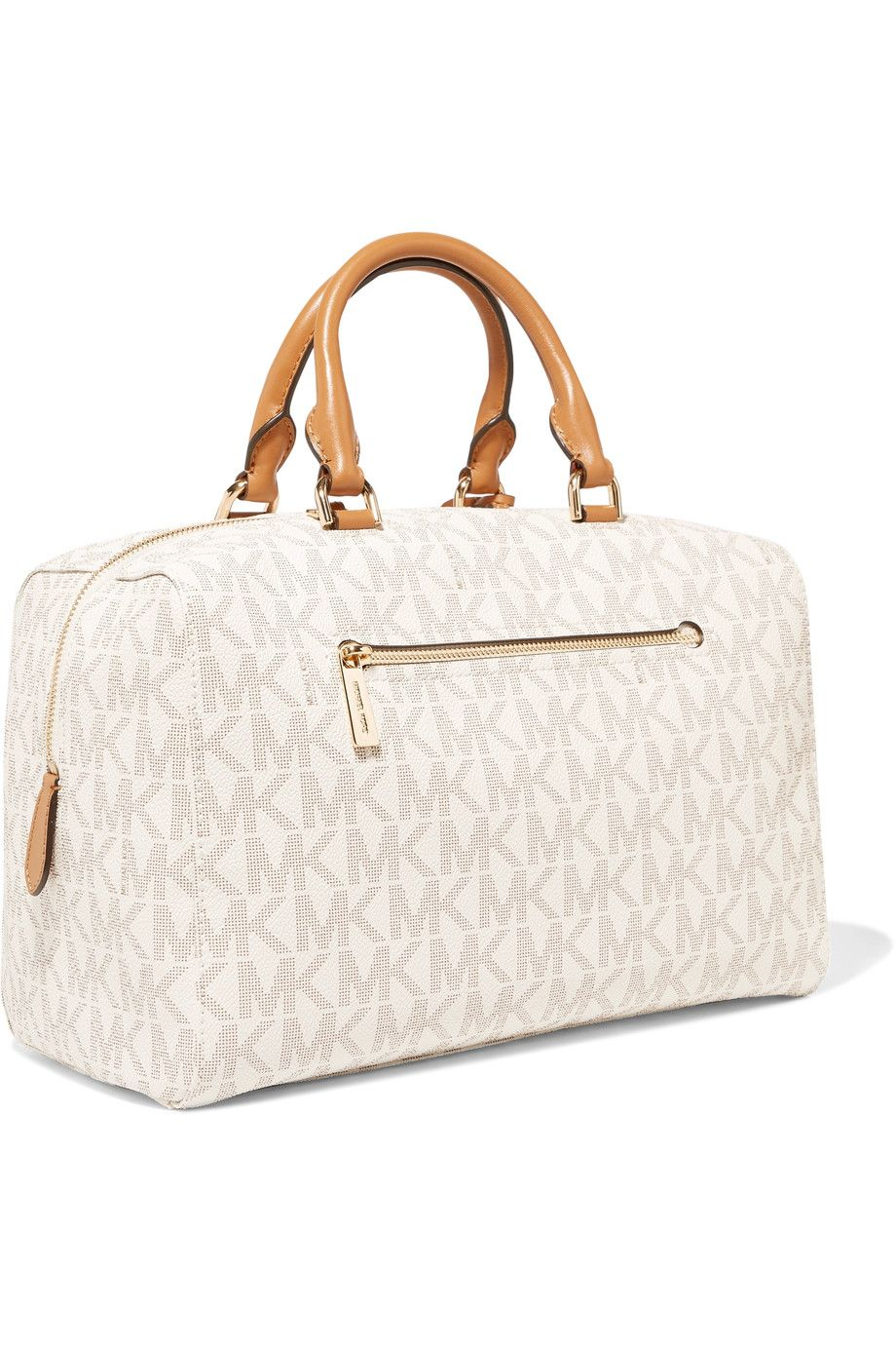 0f3555d46d4c Shop on-sale MICHAEL Michael Kors Kirby printed textured-leather tote.  Browse other discount designer Totes   more on The Most Fashionable Fashion  Outlet
