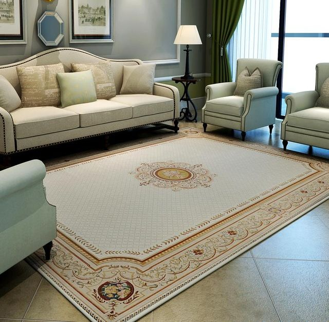 Grande Europe Tapis Pour La Maison Salon Chambre De Luxe