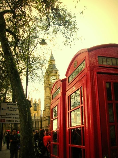 London England Bigben Heart Redbuses Telephone City Places Around The World London England Around The Worlds