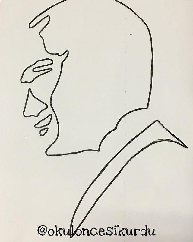 Ataturk Silueti Boyadik Bugun Kalibimiz Okuloncesikurdu Okuloncesi Okuloncesi Okuloncesiogretmeni Faaliyet Etkinlik Etkinli Sanat 14 Nisan Gorsel Sanatlar