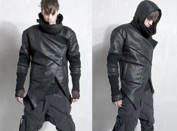buy popular 2c2b1 326bf designer fashion demobaza aw12 männer lederjacke | Dystopia ...