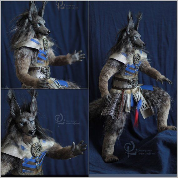 To Order Wolf Anthro Werewolf Art Doll Ooak Toy Realistic Toy Custom