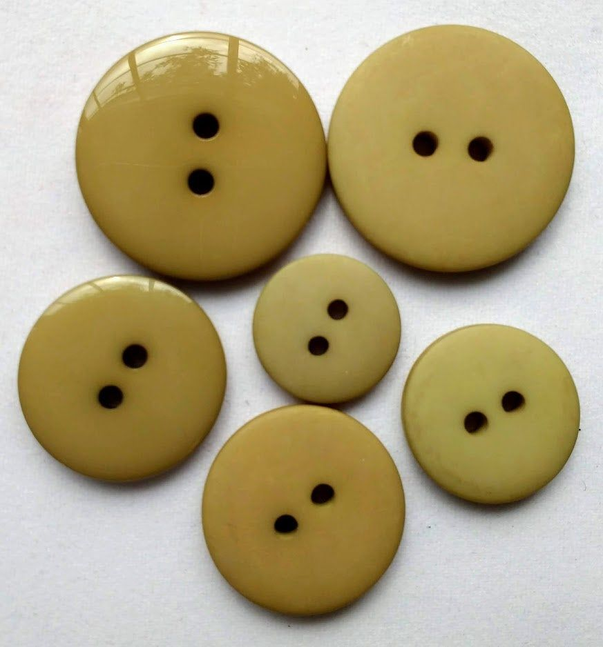 30mm 40mm 50mm Craft 24mm Horn Imitation Tooth Toggle 2 Holes Buttons Coat