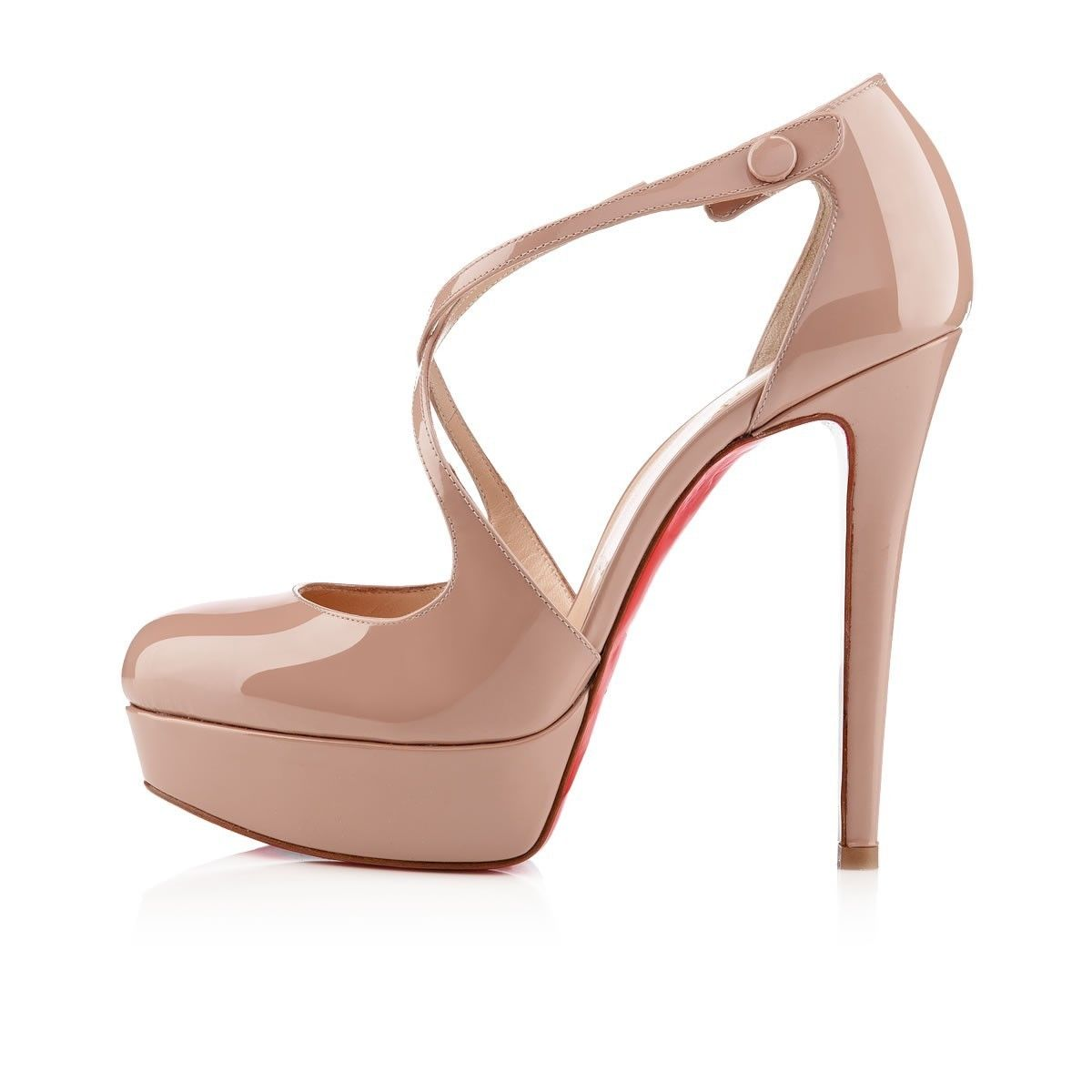 Chaussure Louboutin Pas Cher Pompes Borghese 140mm Nude 12 #shoesforwomen