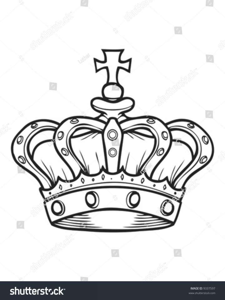 Stencil King Crown: Pin On Crown Images