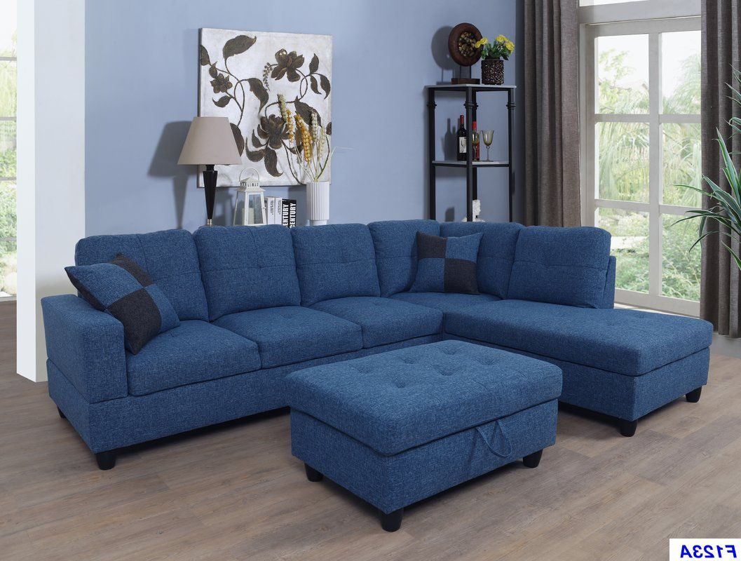 Sensational Russ Sectional With Ottoman In 2019 Sectional Sofa Alphanode Cool Chair Designs And Ideas Alphanodeonline
