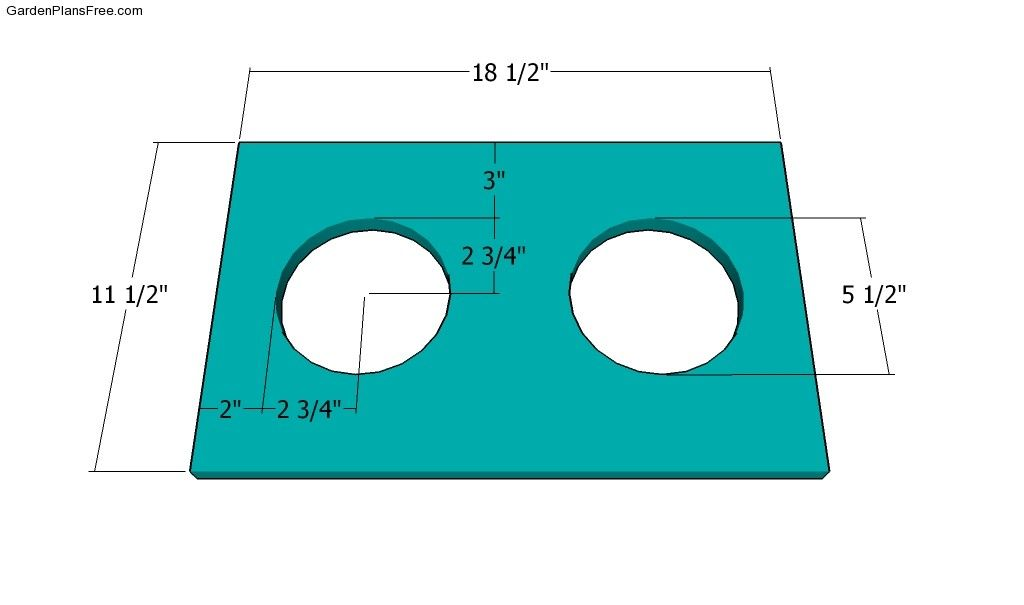 Dog bowl stand plans free garden plans how to build