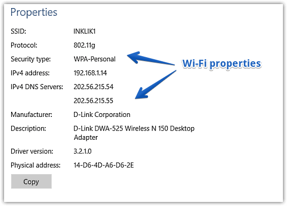 How To View Wi Fi Properties In Windows 10 Windows 10 Tutorials Windows 10 Windows Versions
