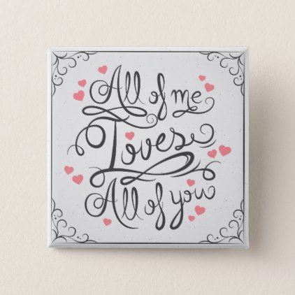 Whimsical Inspirational Love Quote Pin Button | Zazzle.com ...