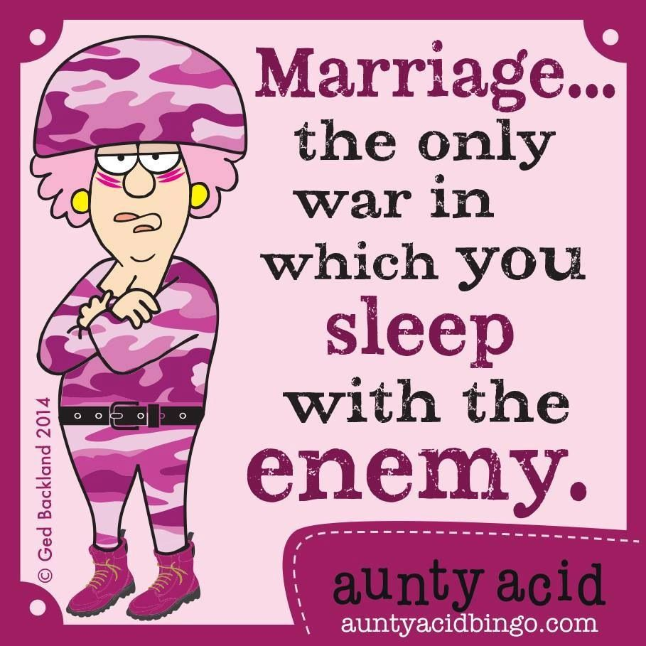Sleeping With The Enemy Whoo Hoo Aunty Acid Aunt Acid Funny