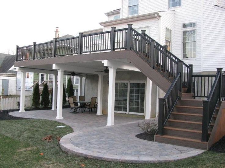 Image Result For Covered Porch Across Back Of House