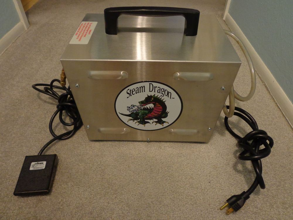 Steam Dragon Jewelry Steam Cleaner / Dental Steamer Used/Excellent Condition #SteamDragon