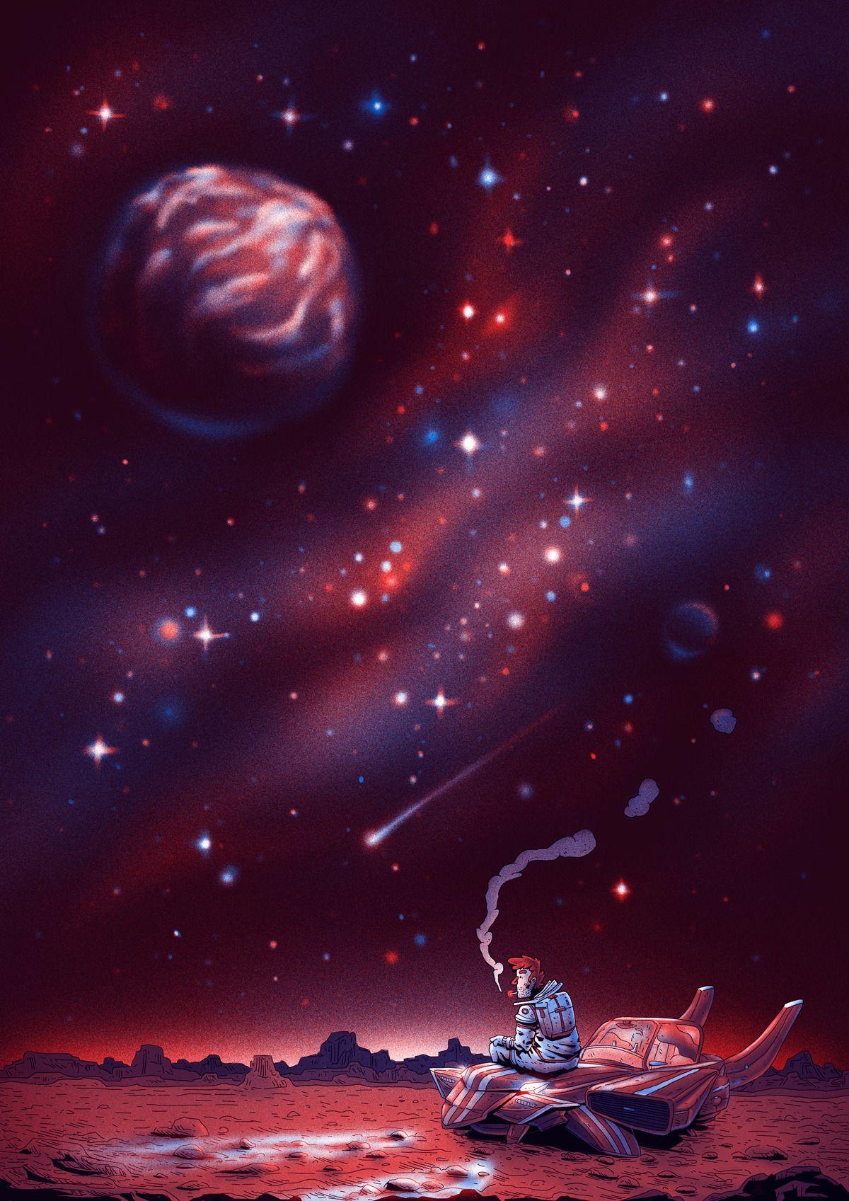 Somos solo un breve suspiro en la historia del universo. Por más que una  idea