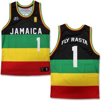 Ziggy Marley - Rasta Basketball Jersey  75da012943e14