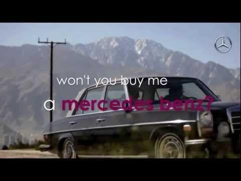 Mercedes Benz - Janis Joplin (Lyrics) - YouTube