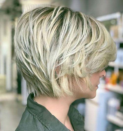 Ladies Short Hairstyles Shag Frisuren Haarschnitt Kurzhaarschnitte