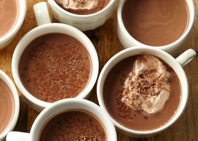 Ingredients: 2 tbsp cocoa powder 1 cup granulated sugar 2 cups half and half  2 cups milk, divided splash of vanilla Directions: Place the cocoa powder  and ...