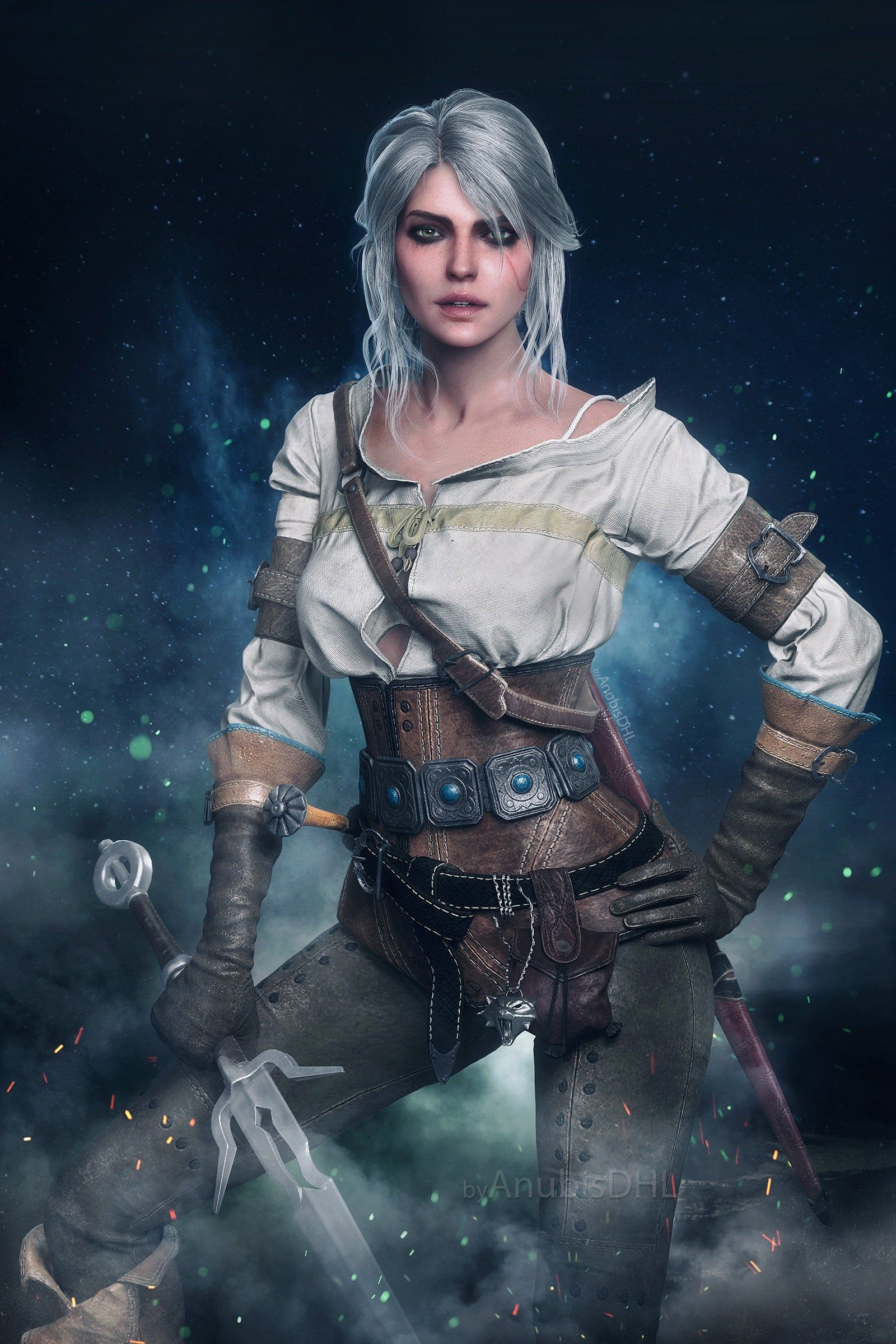 r/witcher Witcher Ciri in 2020 The witcher game, The