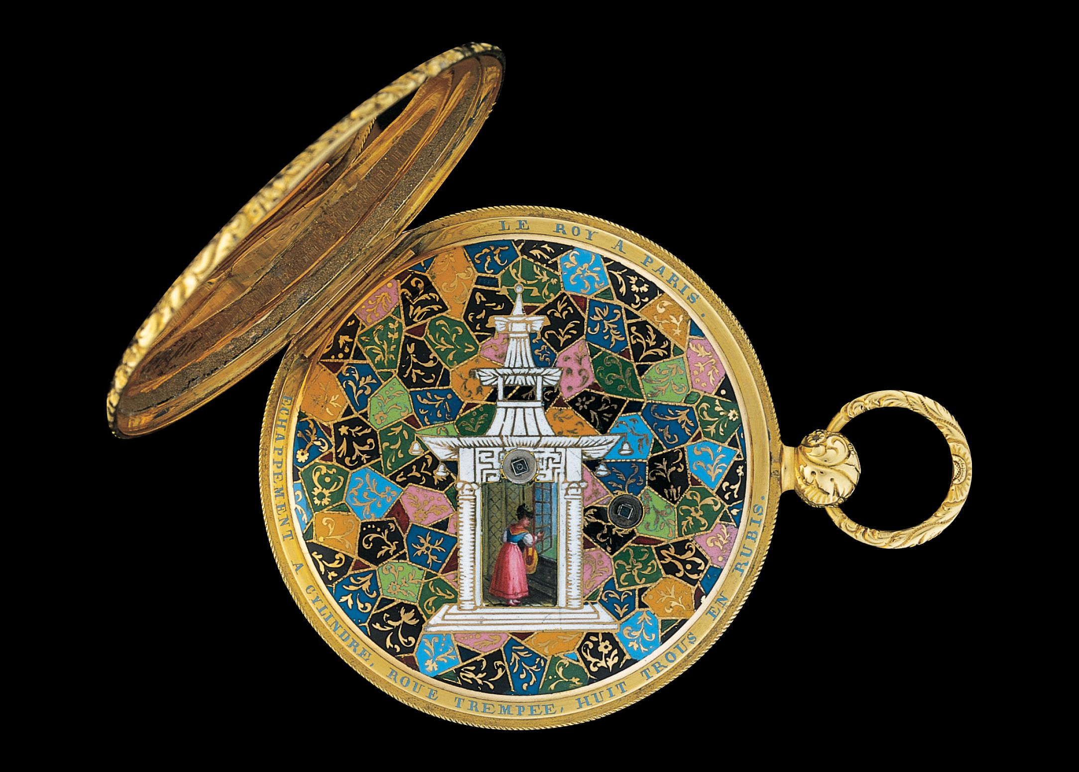 Explore the luxurious timepieces in the jewels of time