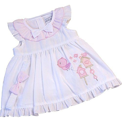 dd3302a662b4 BabyPrem Baby Dress Knickers Headband Set Girls Clothes Bird Newborn ...