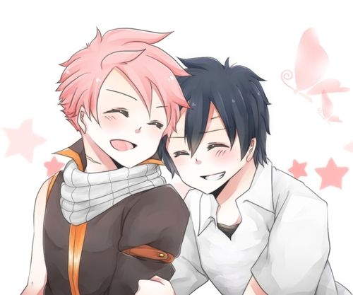 Grey and Natsu by : http://www.pixiv.net/member.php?id=4214077