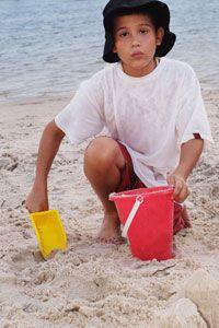 Consejos de seguridad de Sun para niños y adolescentes.