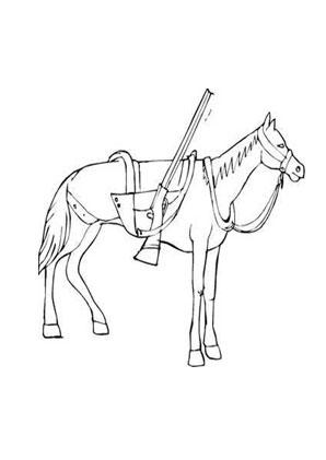 ausmalbild cowboypferd zum ausmalen. ausmalbilder   ausmalbilderpferde   malvorlagen   aus
