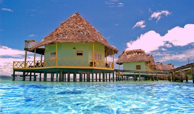 Overwater The In Bungalows America CaribbeanMexicoSouth QrdECBeoxW