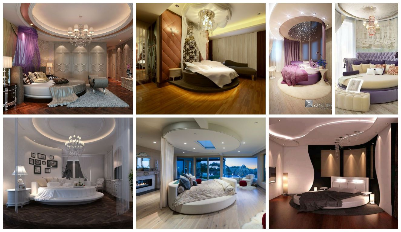 19 Extravagant Round Bed Designs For Your Glamorous Bedroom | Glamourous  bedroom, Round beds, Luxurious bedrooms