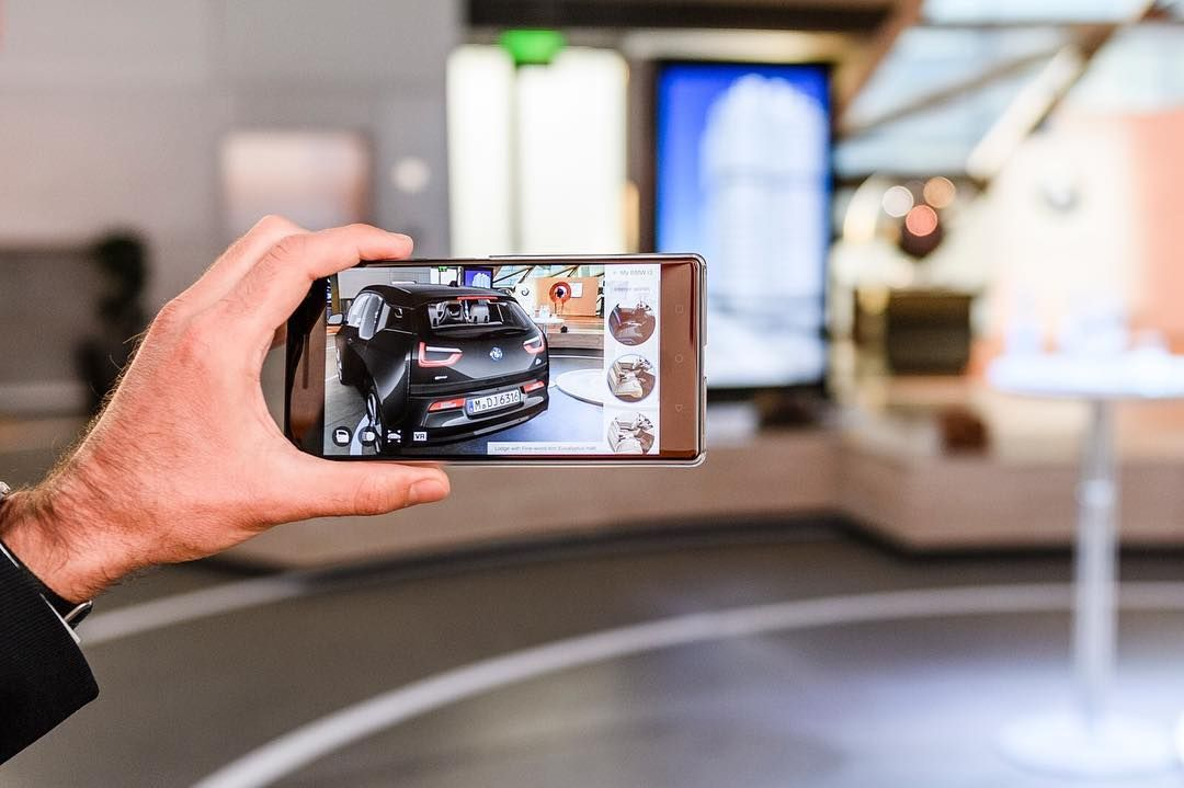 AR increases the sales capabilities and enriches the