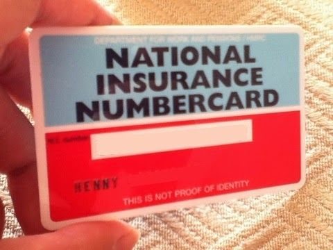 National Insurance Card The History Of National Insurance Card National Insurance Card Buong National Insurance