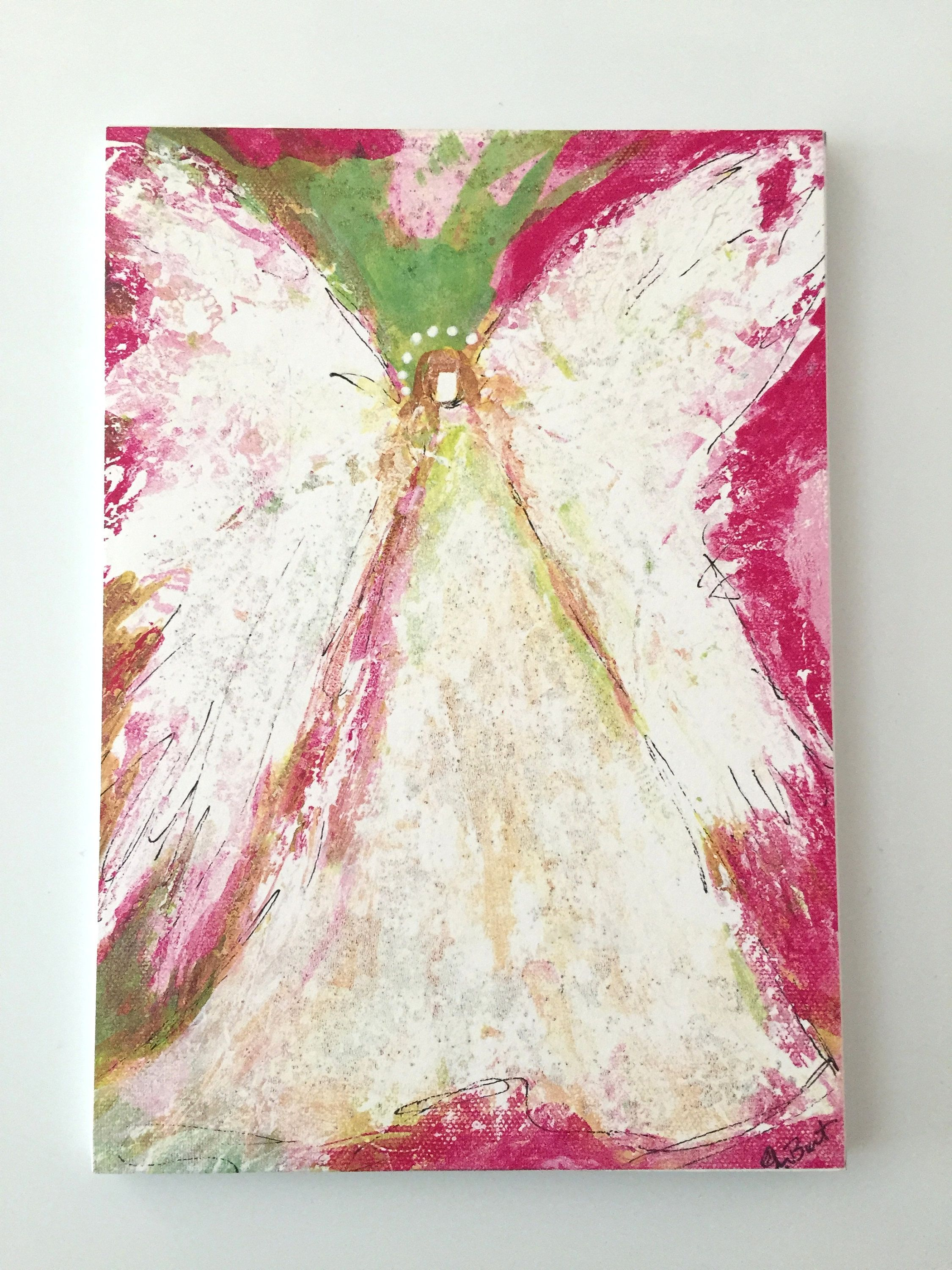 Baby Girl Lilly Pulitzer Colors Angel Baby Shower Gift Christian